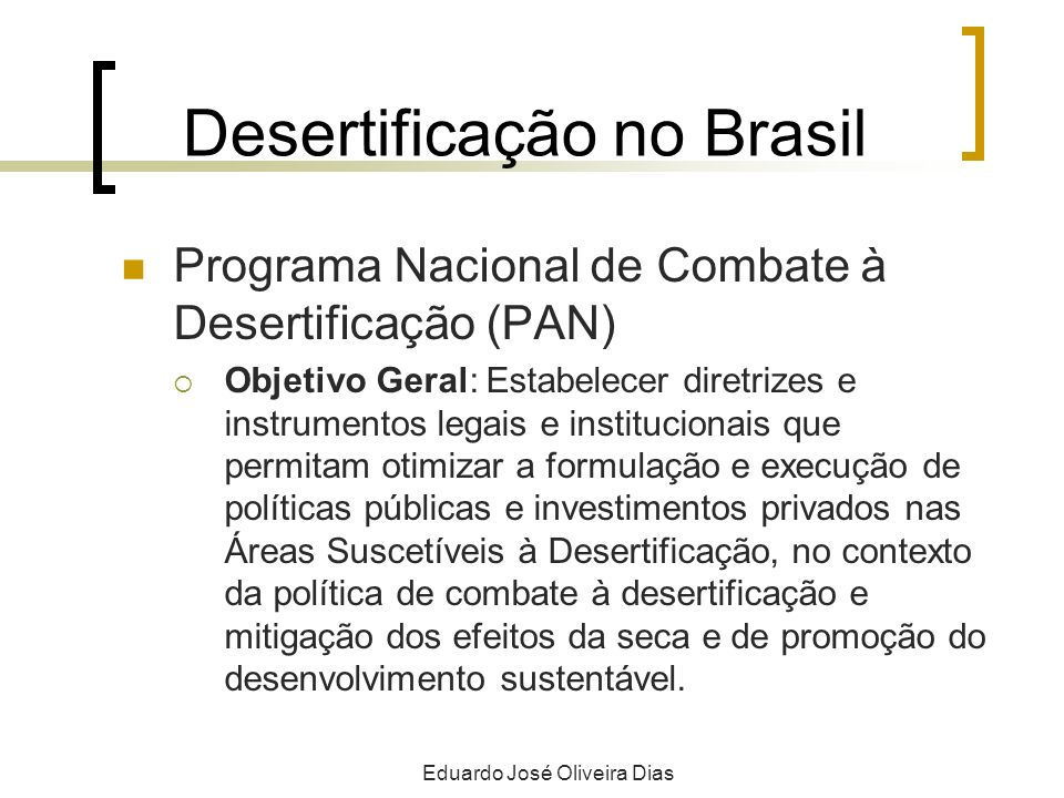 Desertificação no Brasil