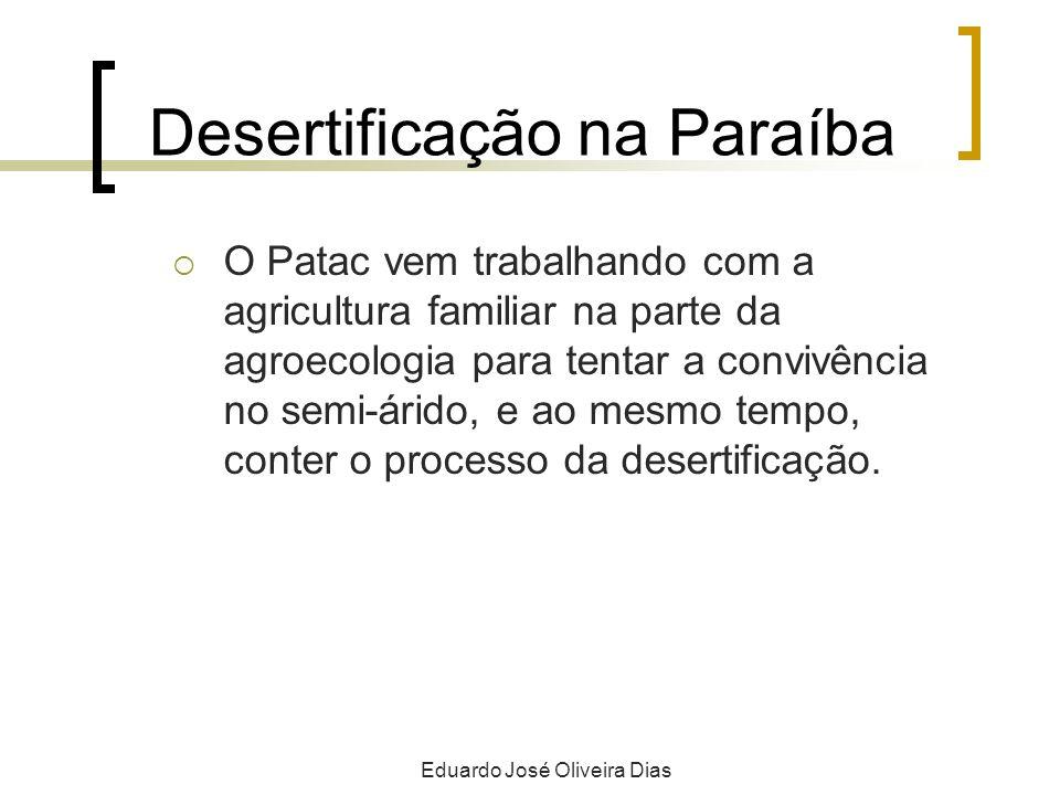 Desertificação na Paraíba