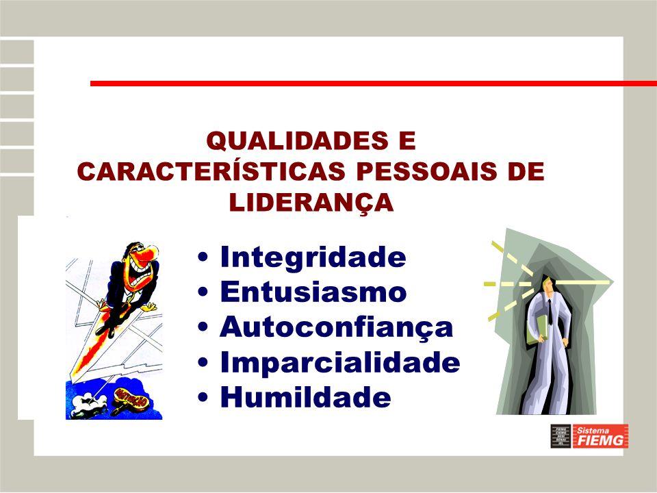 QUALIDADES E CARACTERÍSTICAS PESSOAIS DE LIDERANÇA