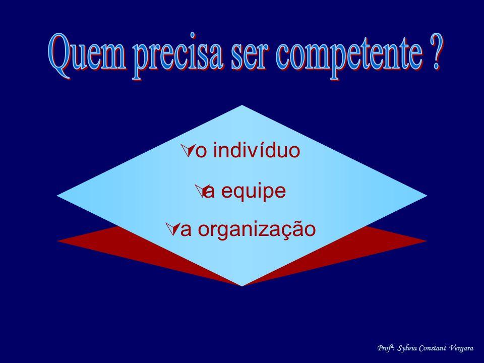 Quem precisa ser competente