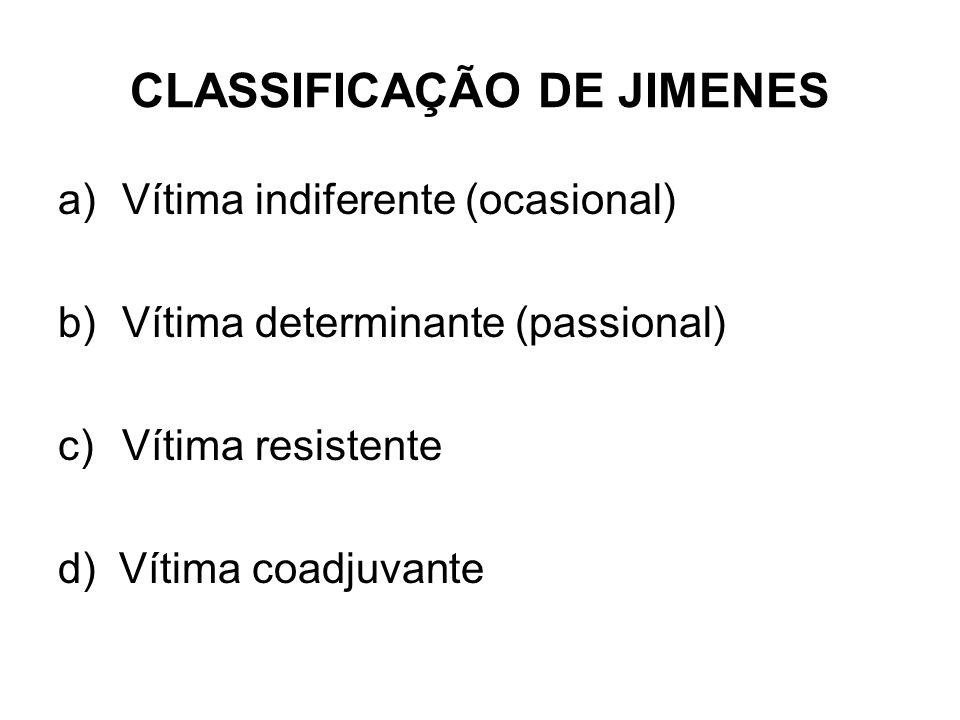 CLASSIFICAÇÃO DE JIMENES