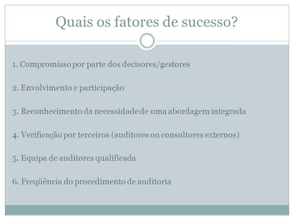 Quais os fatores de sucesso