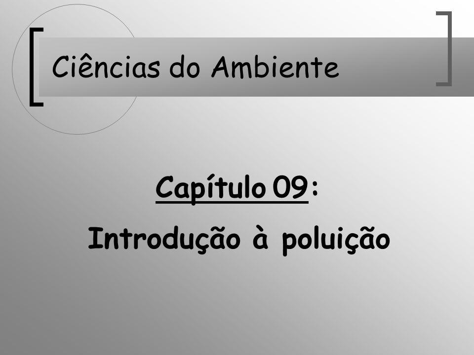 Ciências do Ambiente Capítulo 09: Introdução à poluição