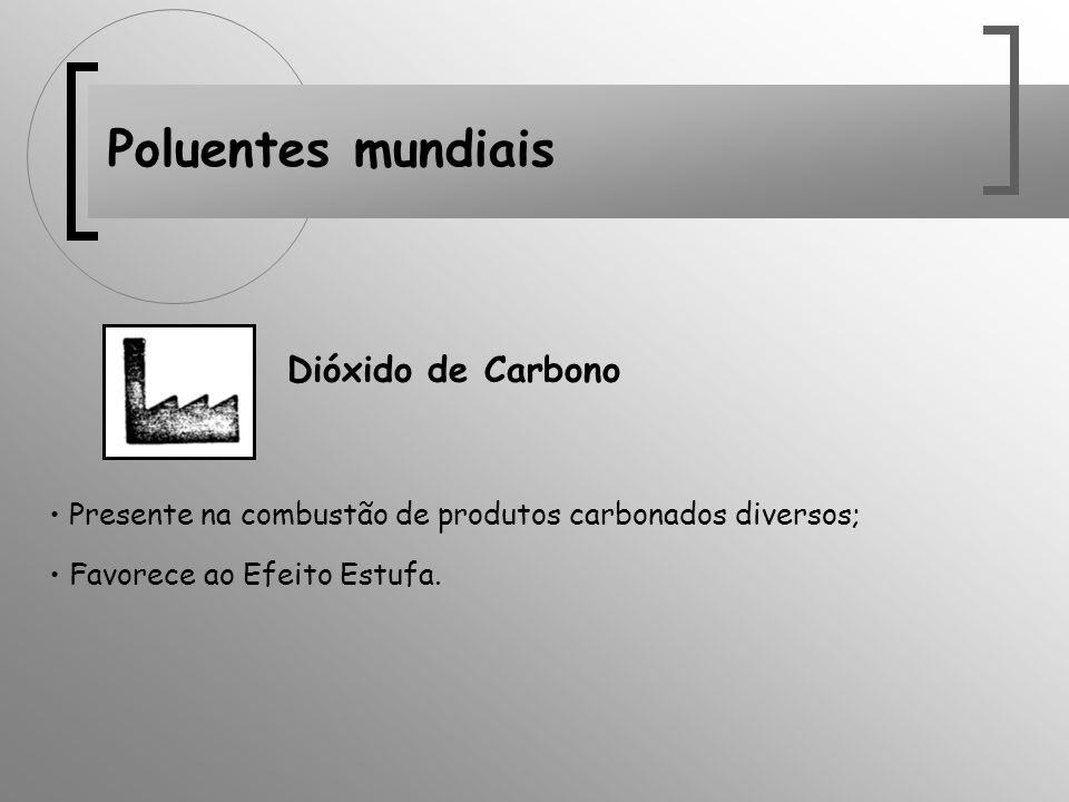 Poluentes mundiais Dióxido de Carbono