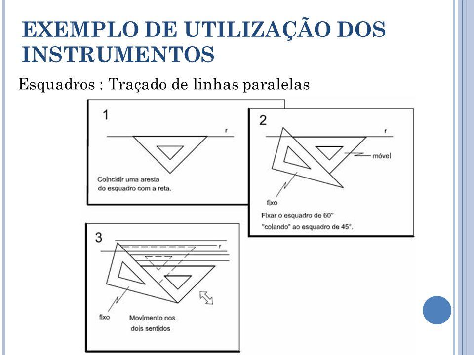 EXEMPLO DE UTILIZAÇÃO DOS INSTRUMENTOS
