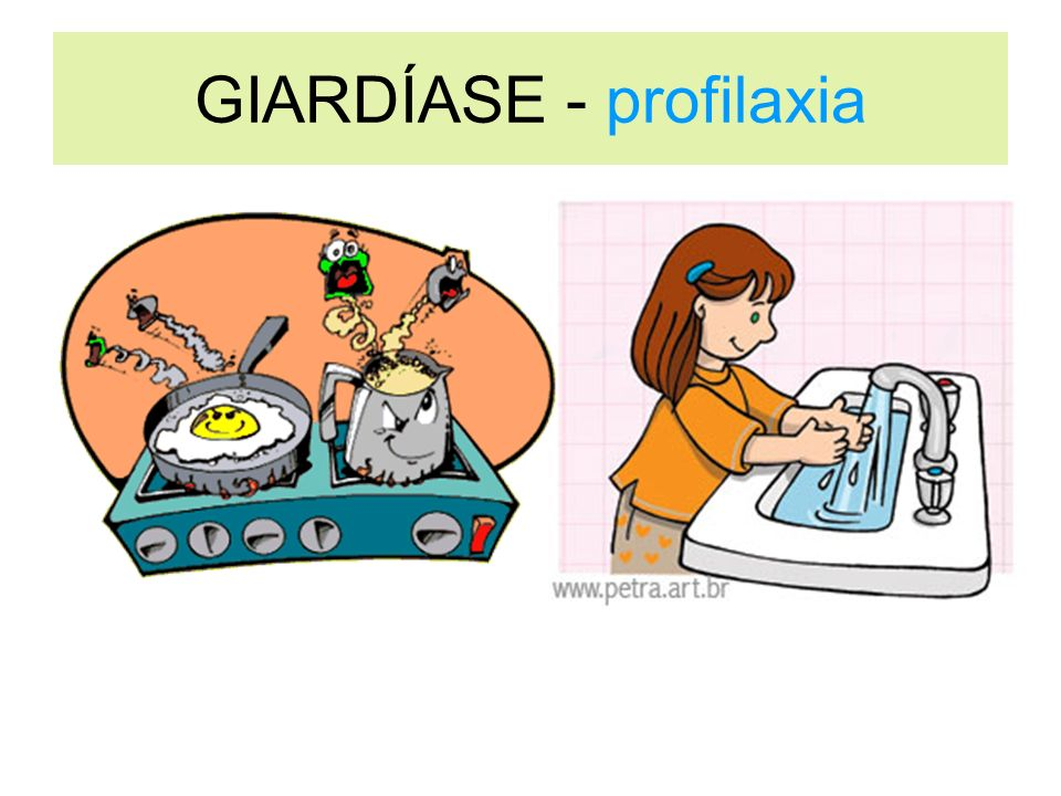 GIARDÍASE - profilaxia