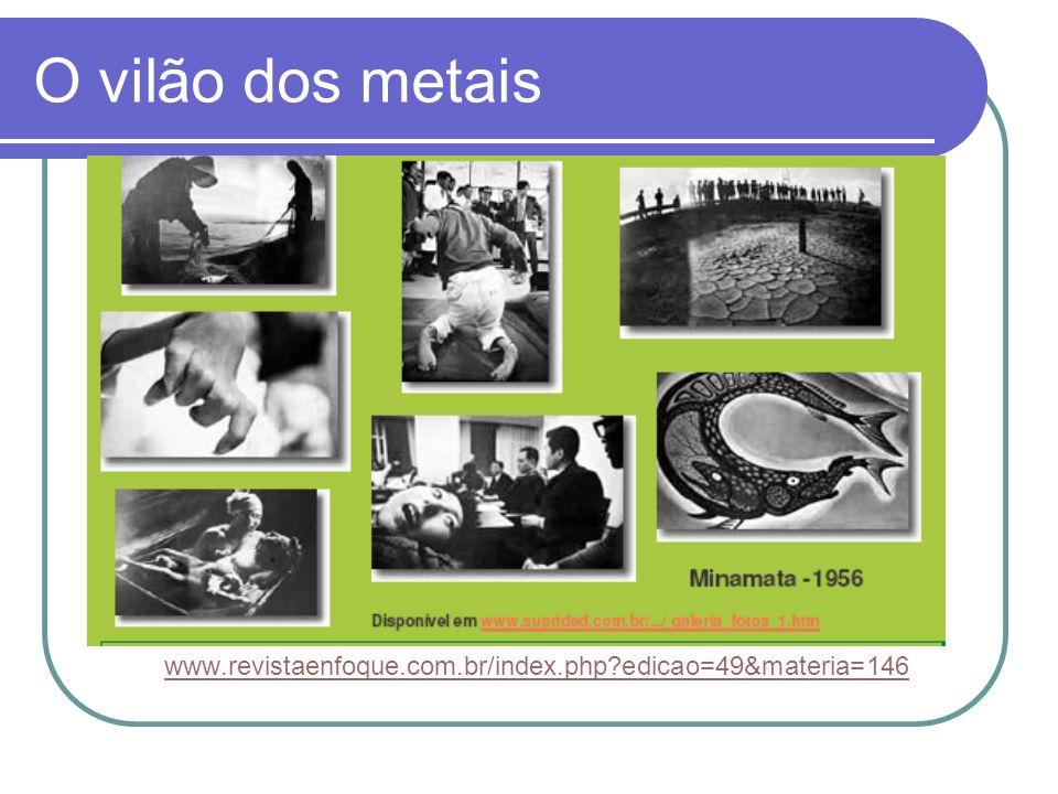 O vilão dos metais www.revistaenfoque.com.br/index.php edicao=49&materia=146