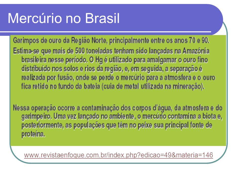 Mercúrio no Brasil www.revistaenfoque.com.br/index.php edicao=49&materia=146