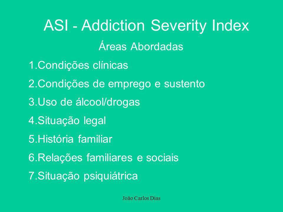 ASI - Addiction Severity Index