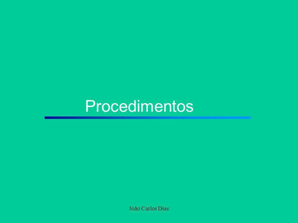 Procedimentos João Carlos Dias