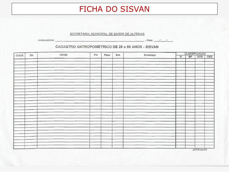 FICHA DO SISVAN