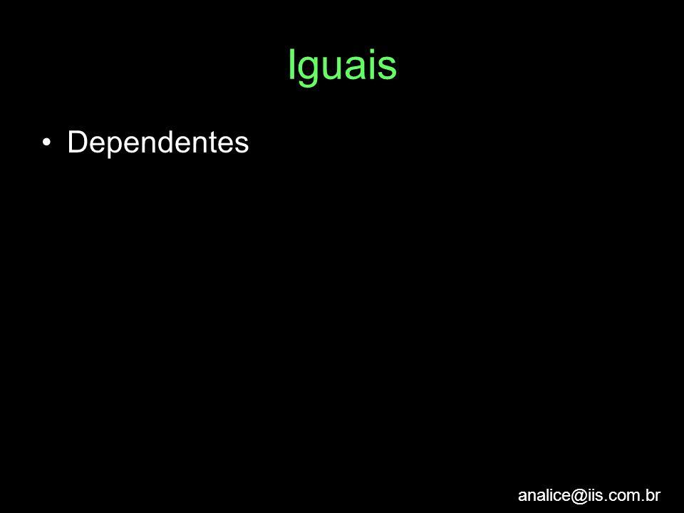 Iguais Dependentes