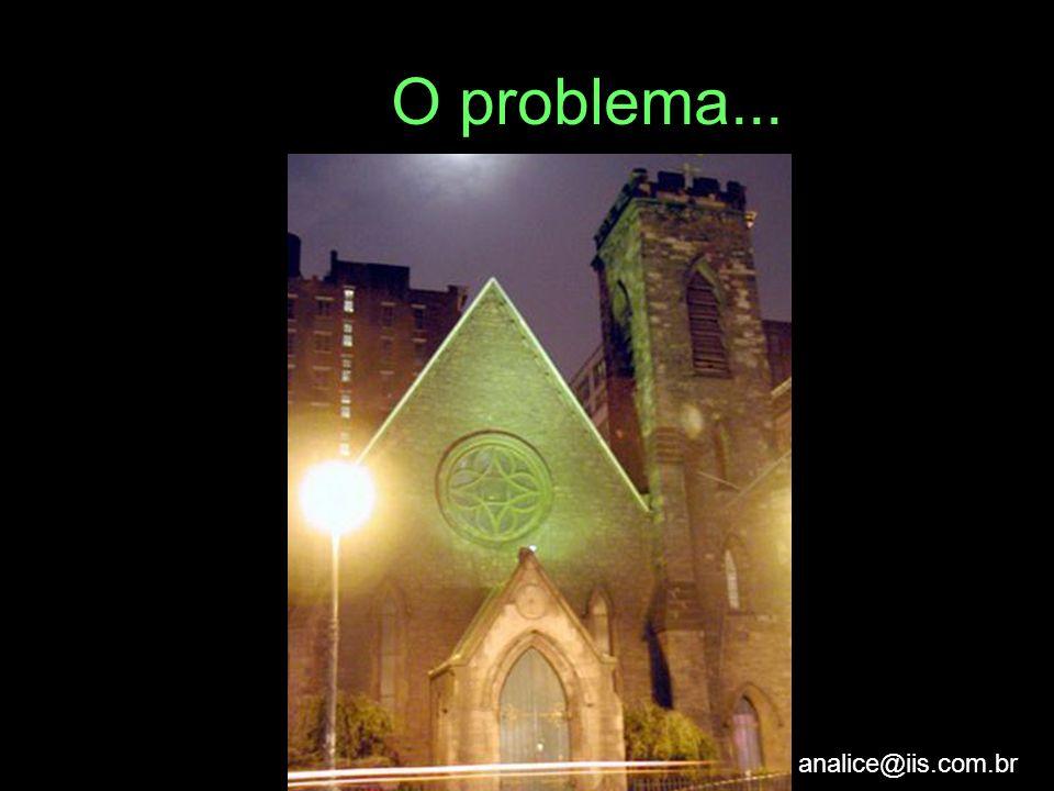 O problema...