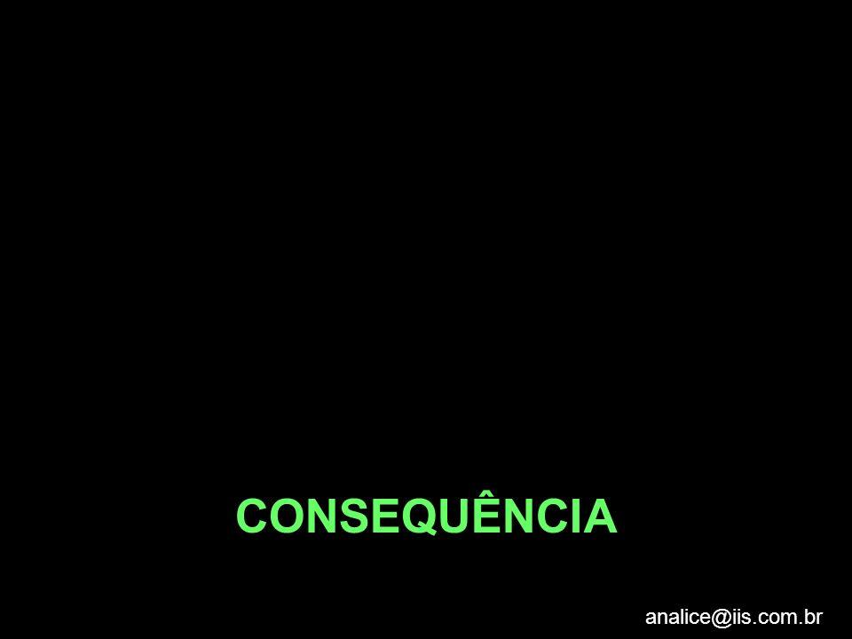 CONSEQUÊNCIA