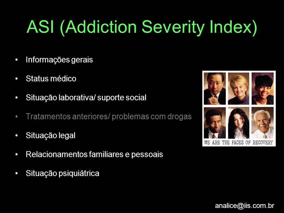ASI (Addiction Severity Index)