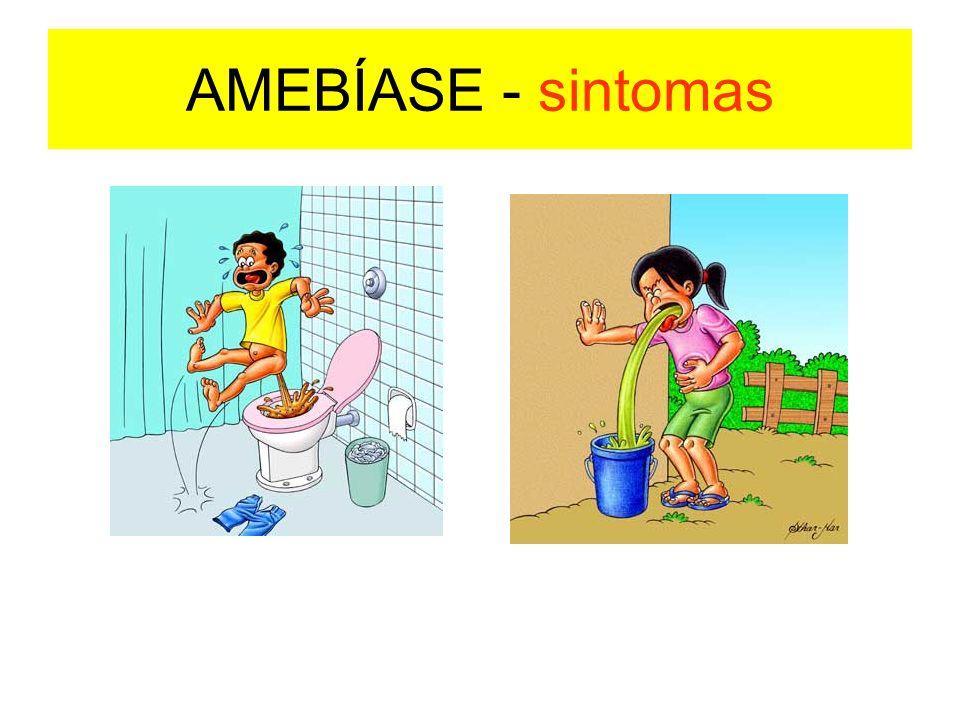 AMEBÍASE - sintomas