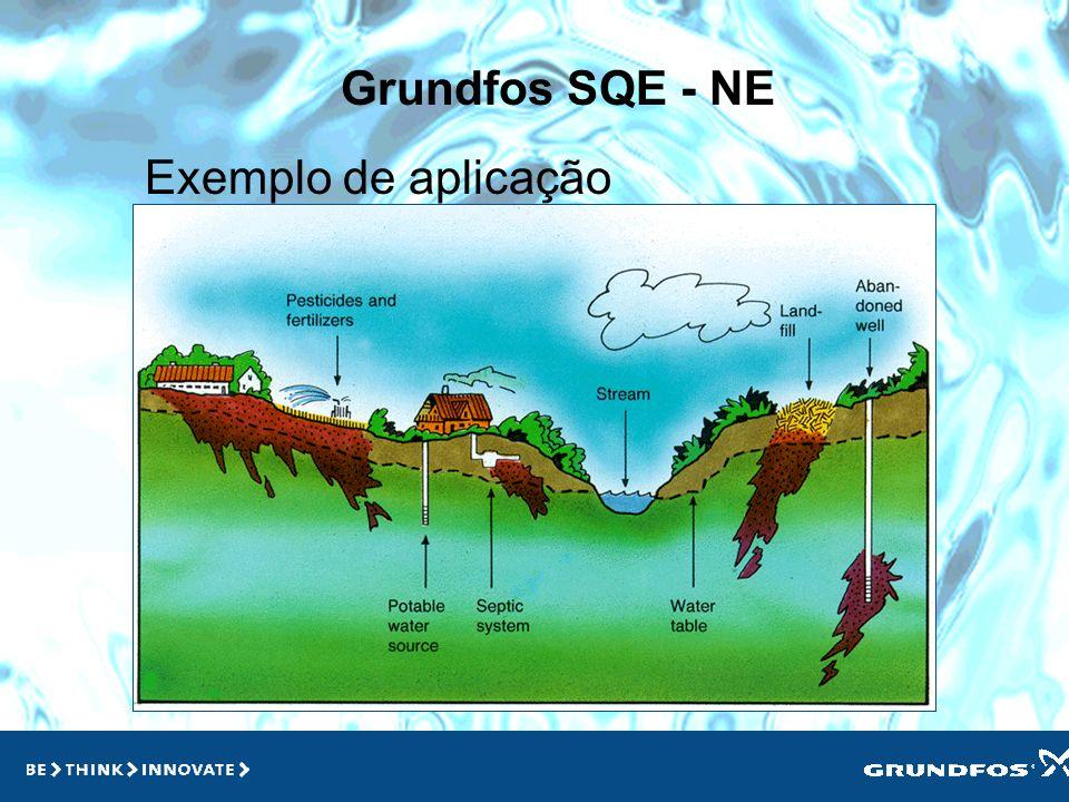 Grundfos SQE - NE Exemplo de aplicação