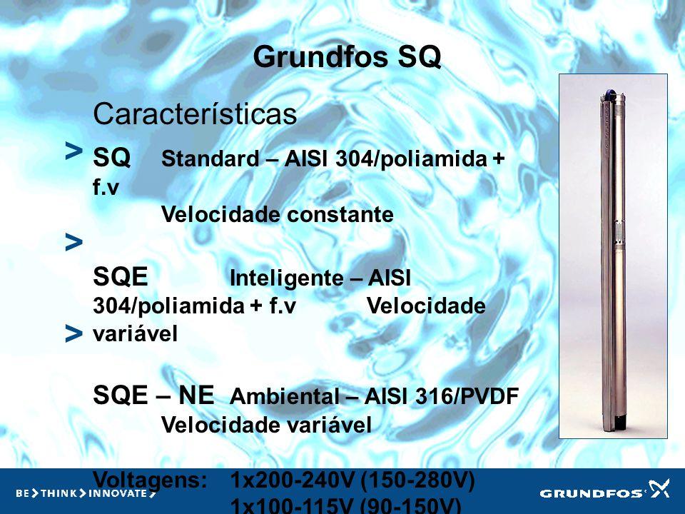 > > > Grundfos SQ Características