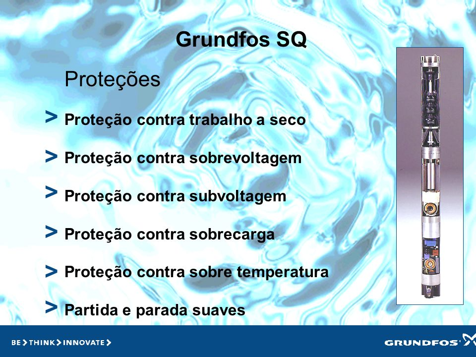 > > > > > > Grundfos SQ Proteções