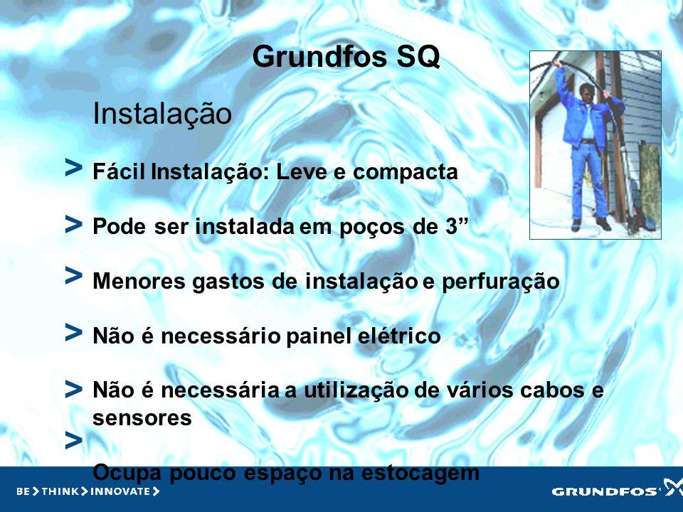 > > > > > > Grundfos SQ Instalação