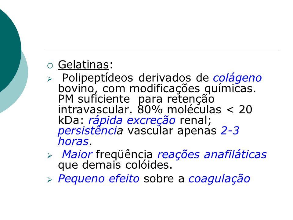 Gelatinas: