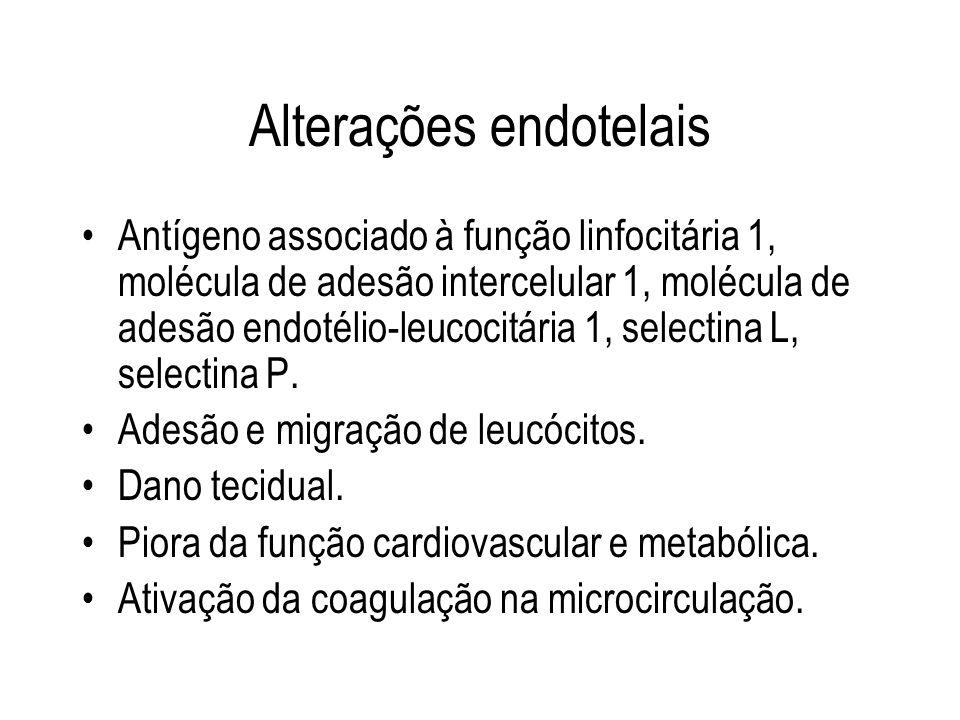 Alterações endotelais