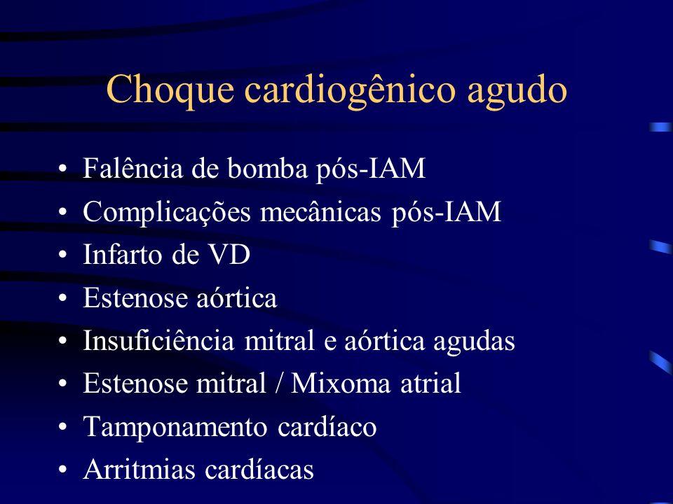 Choque cardiogênico agudo