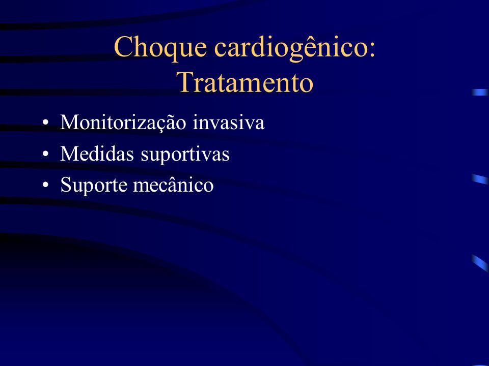 Choque cardiogênico: Tratamento