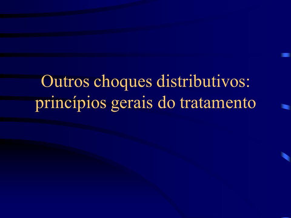 Outros choques distributivos: princípios gerais do tratamento