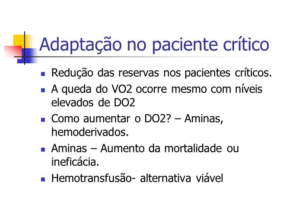 Adaptação no paciente crítico