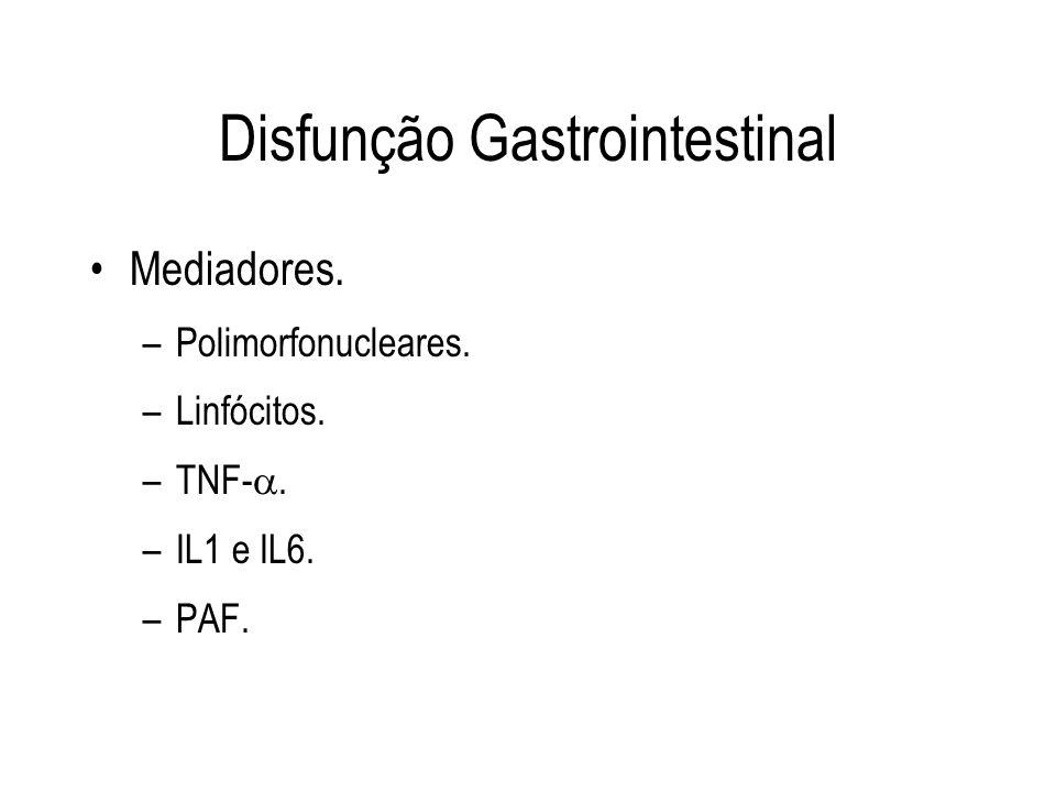 Disfunção Gastrointestinal
