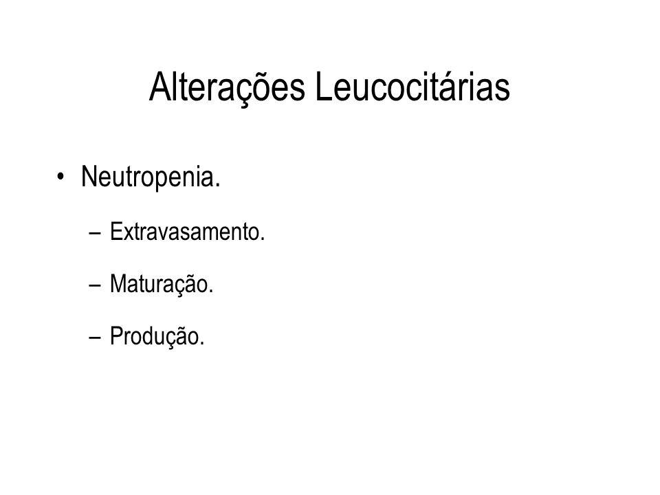 Alterações Leucocitárias
