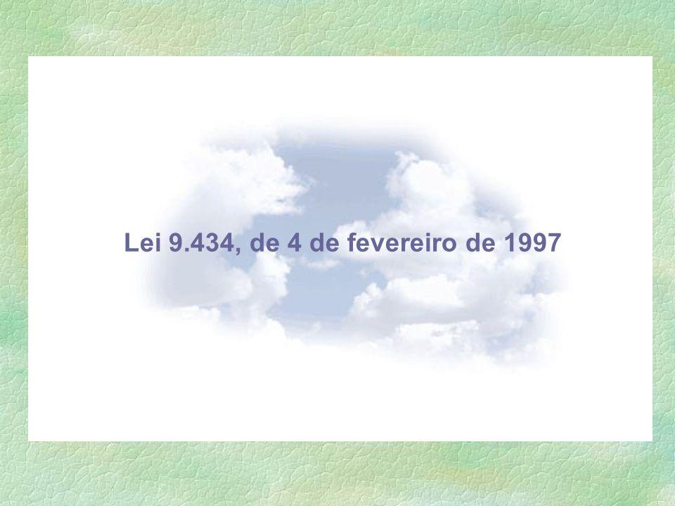 Lei 9.434, de 4 de fevereiro de 1997
