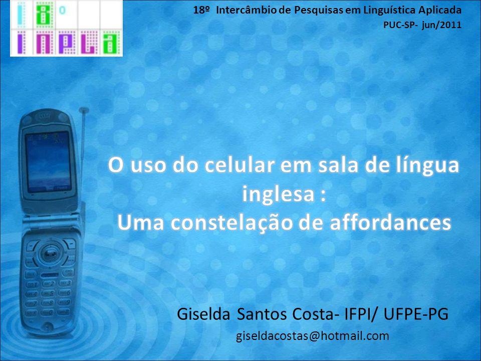 Giselda Santos Costa- IFPI/ UFPE-PG giseldacostas@hotmail.com