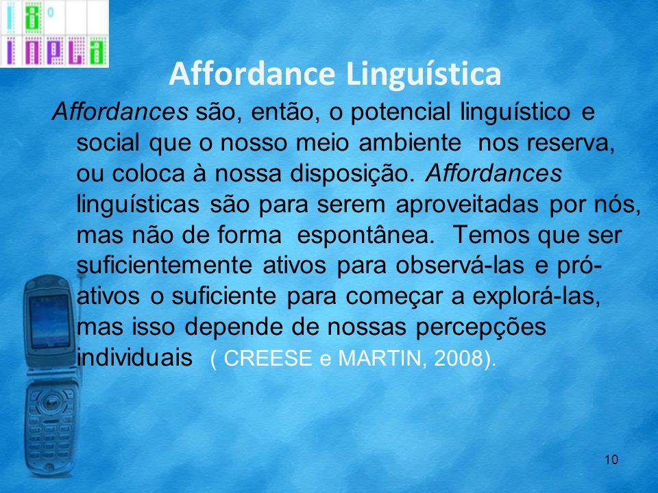 Affordance Linguística