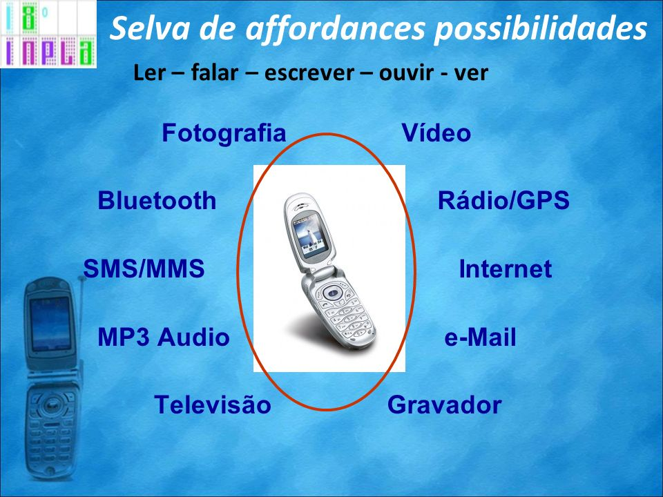 Selva de affordances possibilidades
