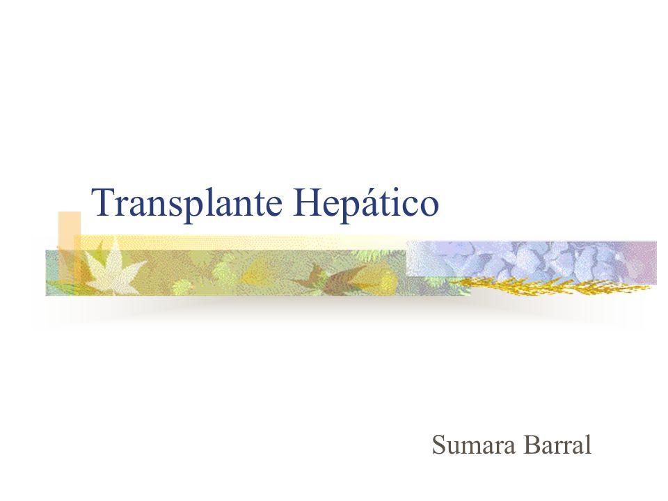 Transplante Hepático Sumara Barral