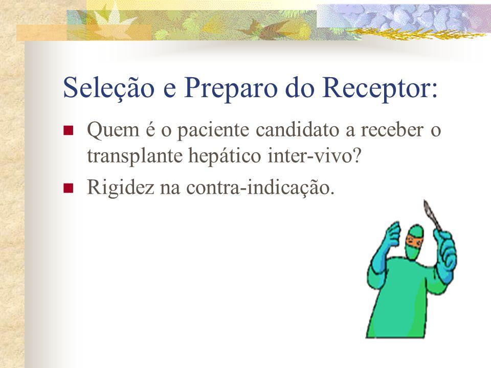 Seleção e Preparo do Receptor: