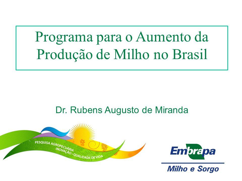 Programa para o Aumento da Produção de Milho no Brasil