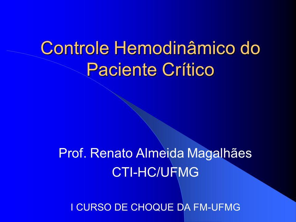 Controle Hemodinâmico do Paciente Crítico