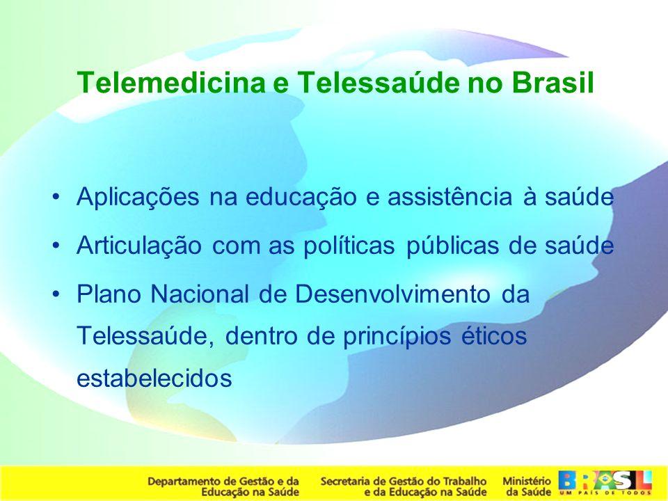Telemedicina e Telessaúde no Brasil