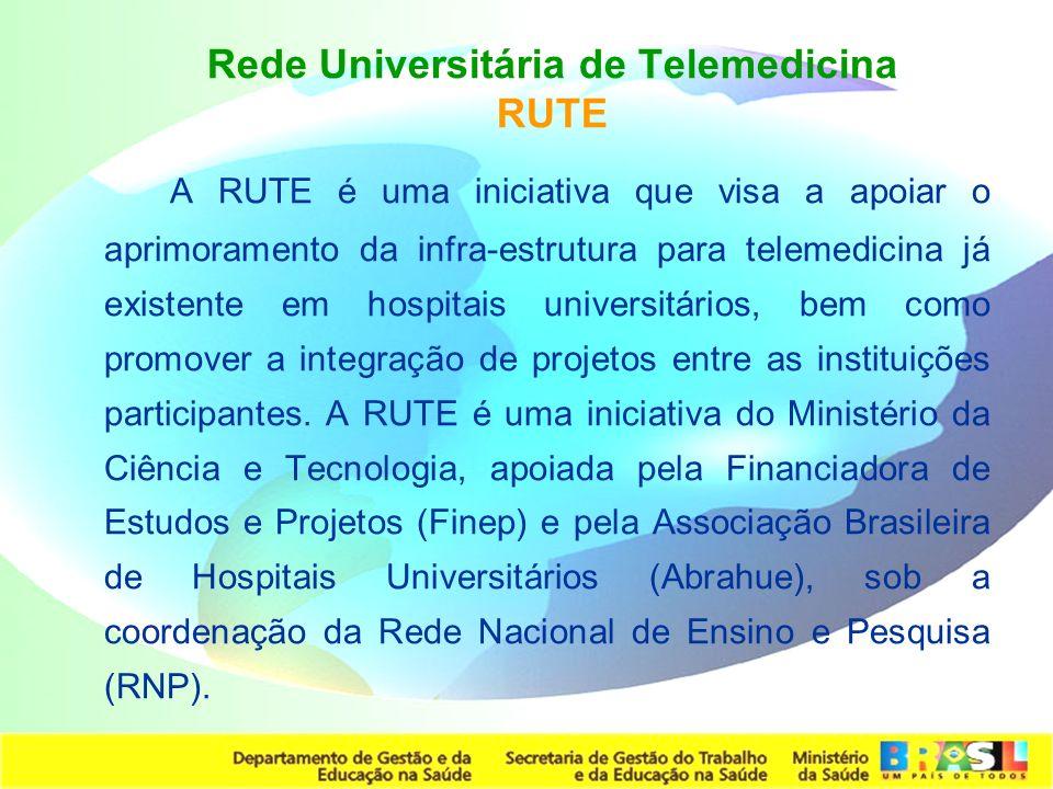 Rede Universitária de Telemedicina RUTE
