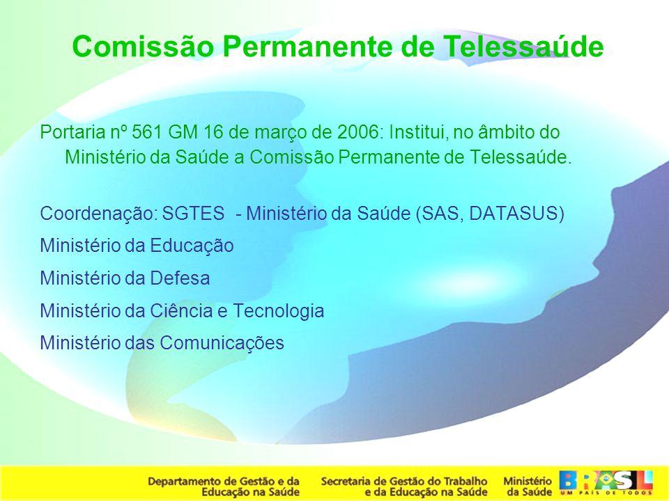 Comissão Permanente de Telessaúde