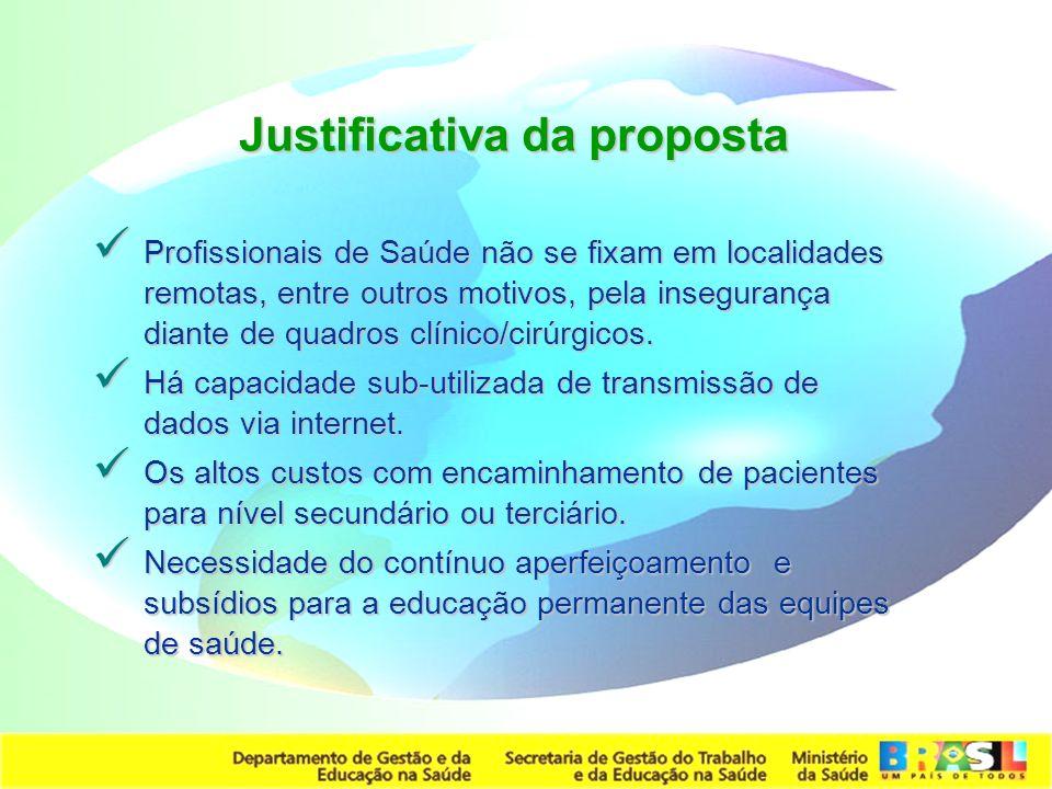 Justificativa da proposta