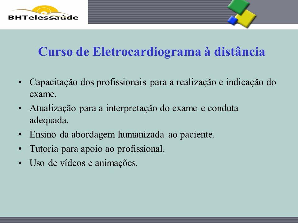 Curso de Eletrocardiograma à distância