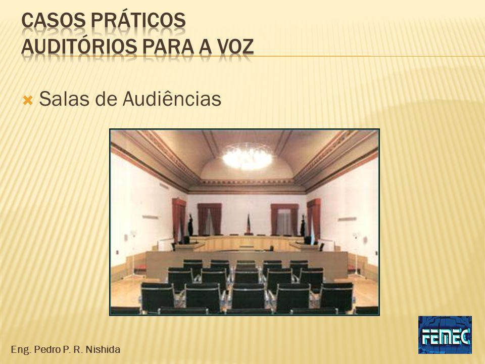 Casos práticos auditórios para a voz