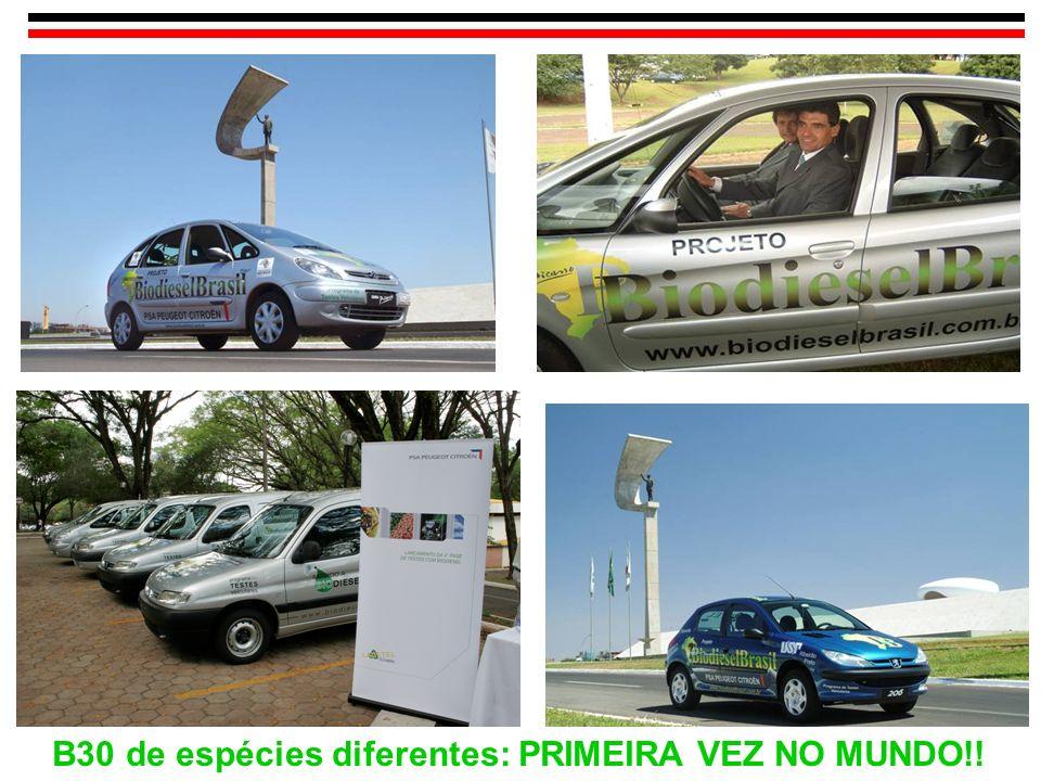 B30 de espécies diferentes: PRIMEIRA VEZ NO MUNDO!!