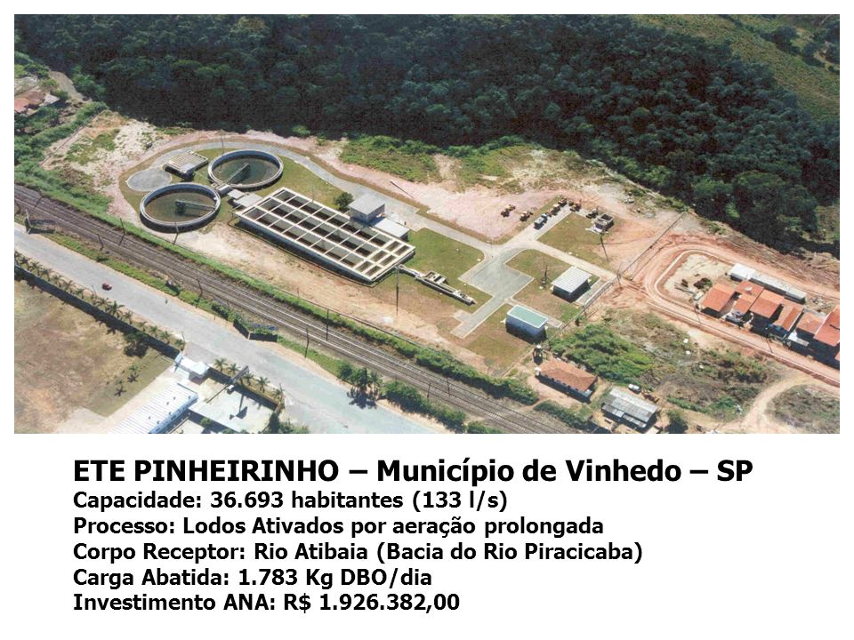 ETE PINHEIRINHO – Município de Vinhedo – SP