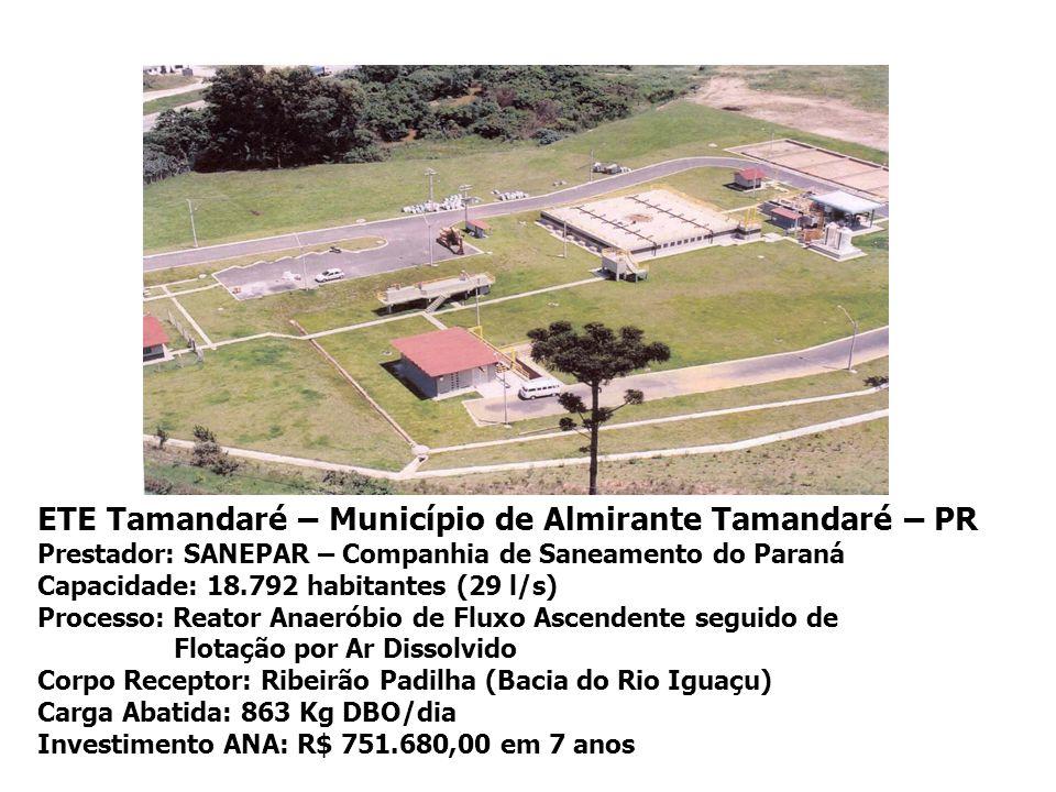 ETE Tamandaré – Município de Almirante Tamandaré – PR