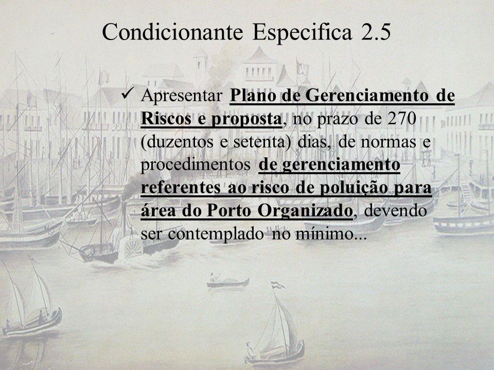 Condicionante Especifica 2.5
